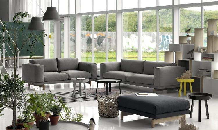 Köp Muutos soffa Rest med 2- eller 3-sits i tyger från Kvadrat på Olsson & Gerthel