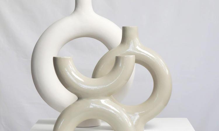 Sanna Holmberg keramik, vaser, konst