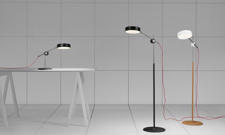 Ateljé Lyktan Simris Bordslampa och golvlampa