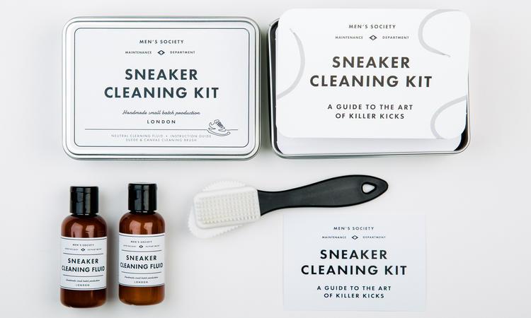 Rengöringskit för sneakers från Men's Society
