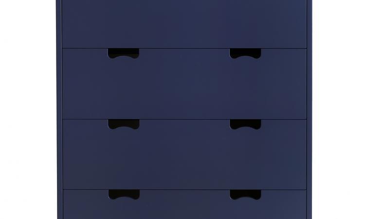 Byrå med fyra stora lådor