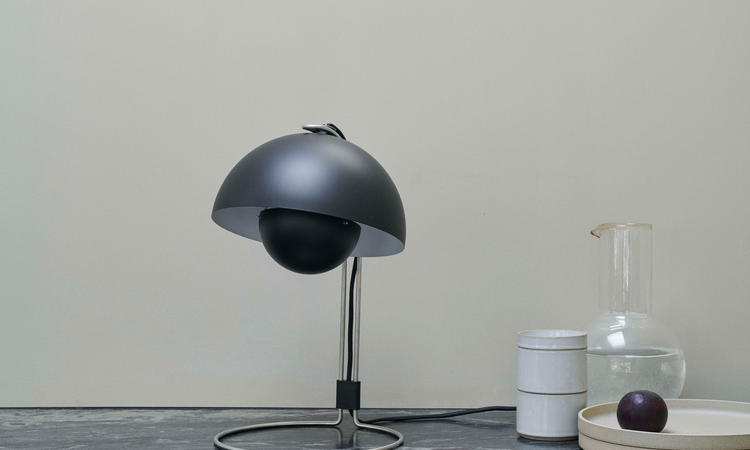 &tradition Flowerpot VP4 Bordslampa Svart