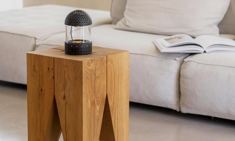 Transparent Speaker Light Speaker Portabel Högtalare