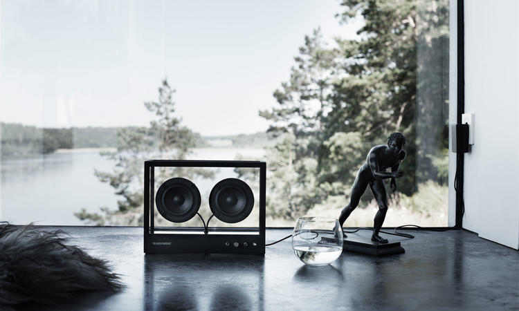 Transparent Speaker Högtalare