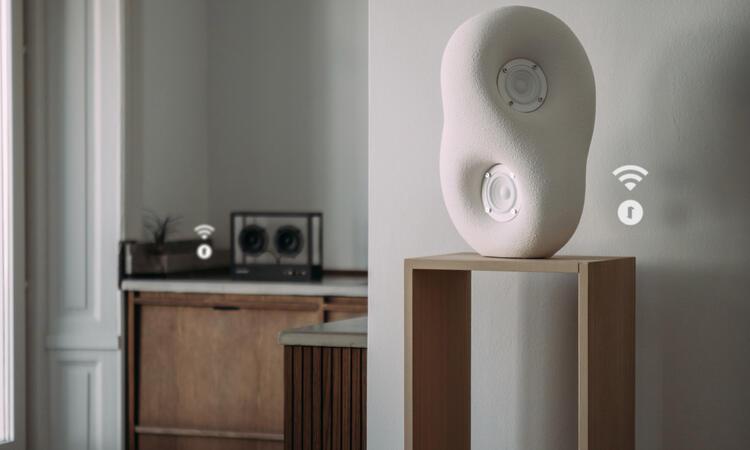 Transparent Speaker Wi-Fi Modul