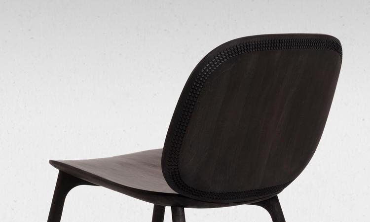Zanat Unna Lounge Chair Fåtölj Wengébetsad