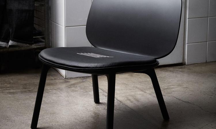 Zanat Unna Lounge Chair Fåtölj Svartlackad lönn