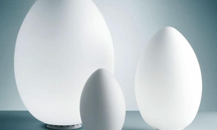 Uovo bordslampa fr n fontana arte olsson gerthel for Lampada uovo fontana arte
