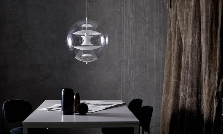 Verpan VP Globe Glass Opalglas Pendel