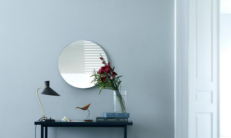 Warm Nordic Herringbone Tile sidobord