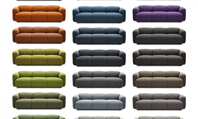 Köp soffan Swell från Normann Copenhagen i alla tyger och färger