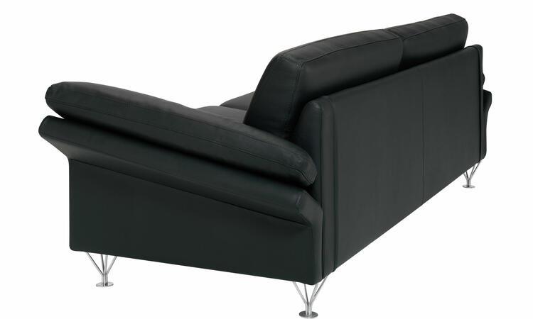 DUX Wind Soffa i svart läder