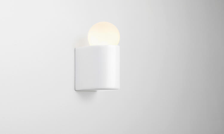 Michael Anastassiades White Porcelain Series D1