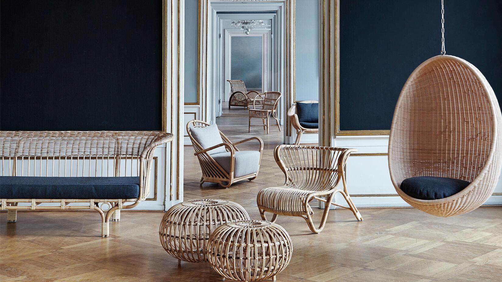 Köp vackra möbler i rotting från Sika Design på Olsson & Gerthel