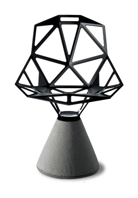 Chair One Stol med betong från Magis Olsson& Gerthel