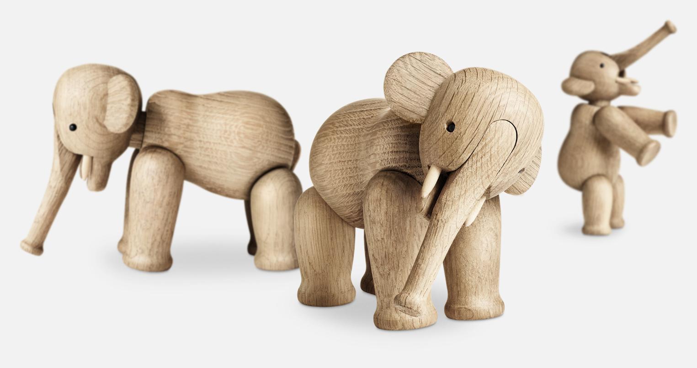 a9787a3ba41b Kay Bojesen Elefant Träleksak