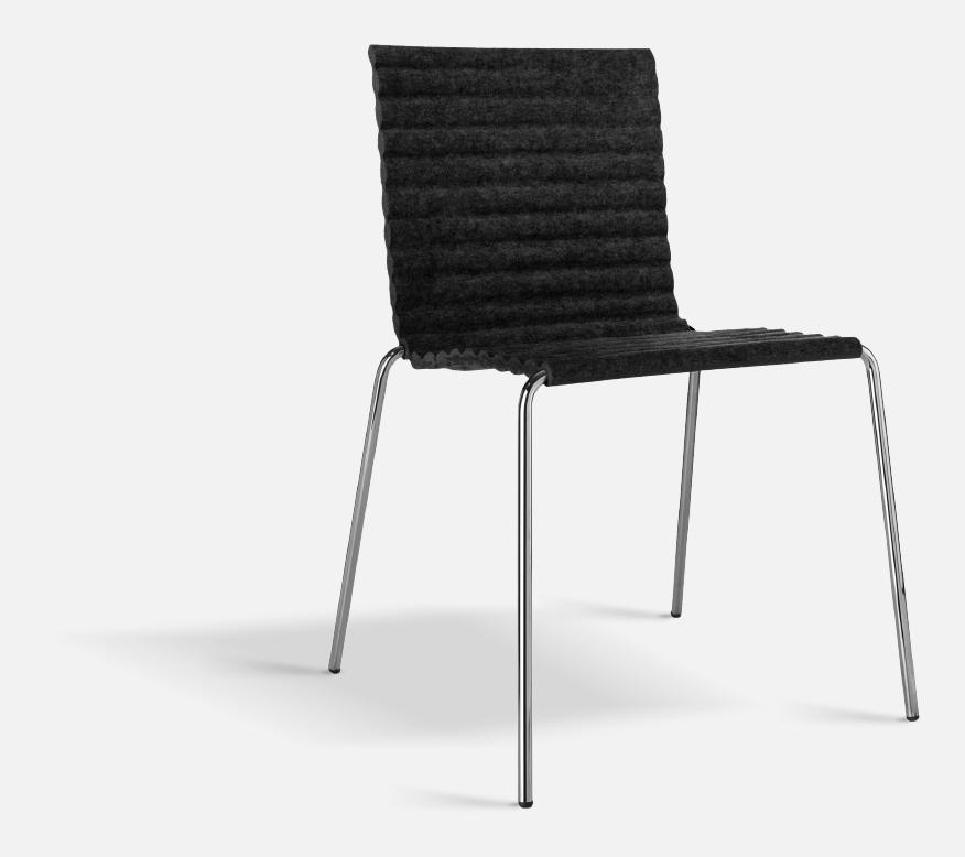 Strålende Rib Stol från Johanson Design | Olsson & Gerthel WB-52