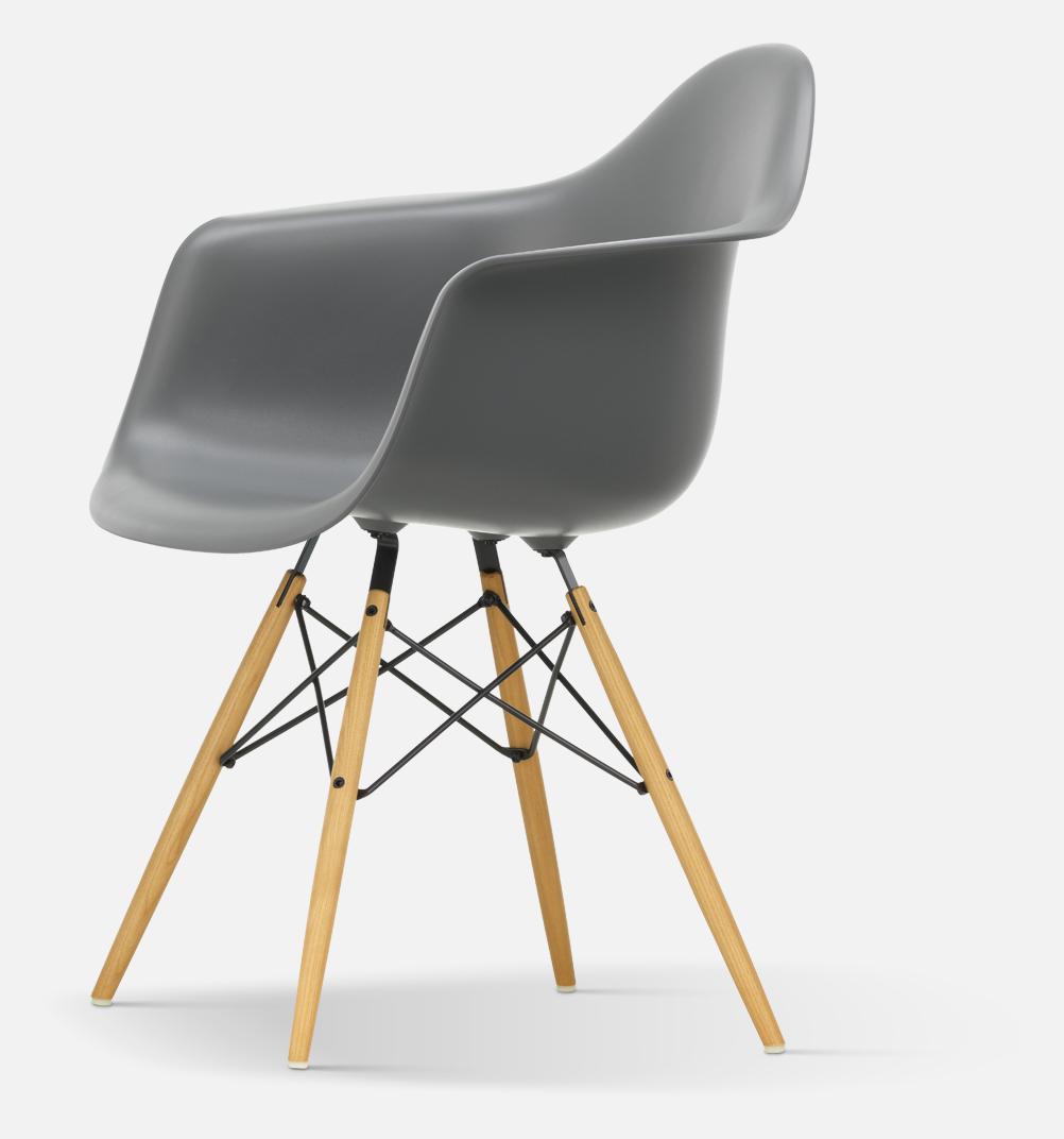 Eames Plastic Armchair DAW Karmstol