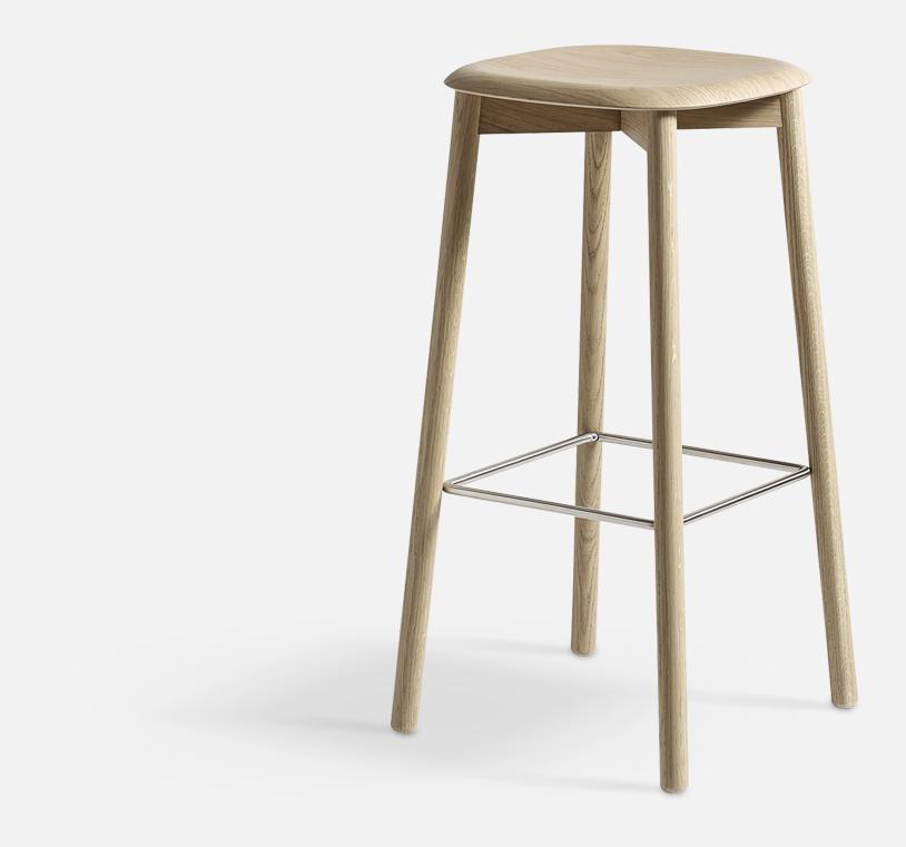 Soft Edge32 Bar stool