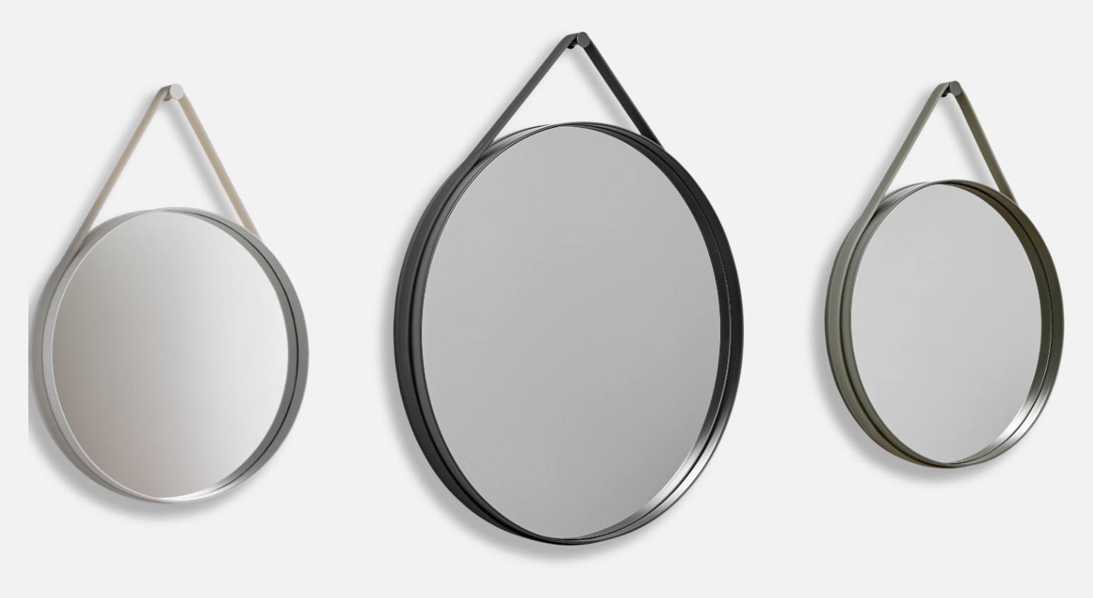 strap mirror fr n hay olsson gerthel. Black Bedroom Furniture Sets. Home Design Ideas