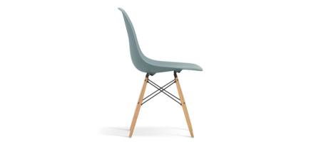 Eames stoler amazing basalt with eames stoler beautiful for Chaise eames dsw transparent