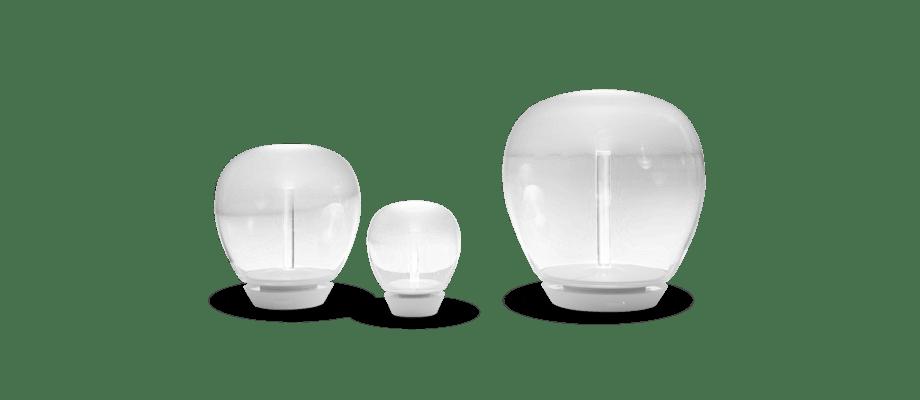 Artemide Empatia Bordslampa i small, medium och large