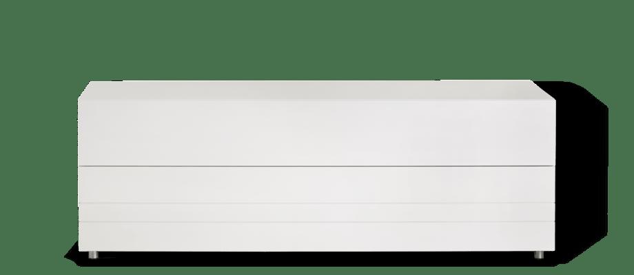 Asplund Rand R150 TV-bänk i den vita färgen 15 White