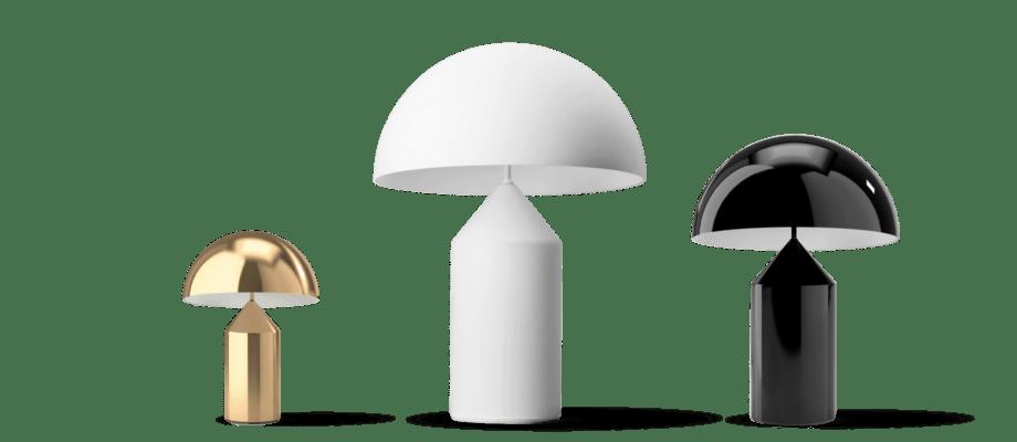 Atollo är en vacker lampa från Oluce