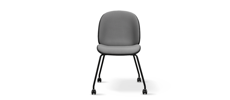 Gubi Beetle Dining Chair Castor Base Skrivbordsstol