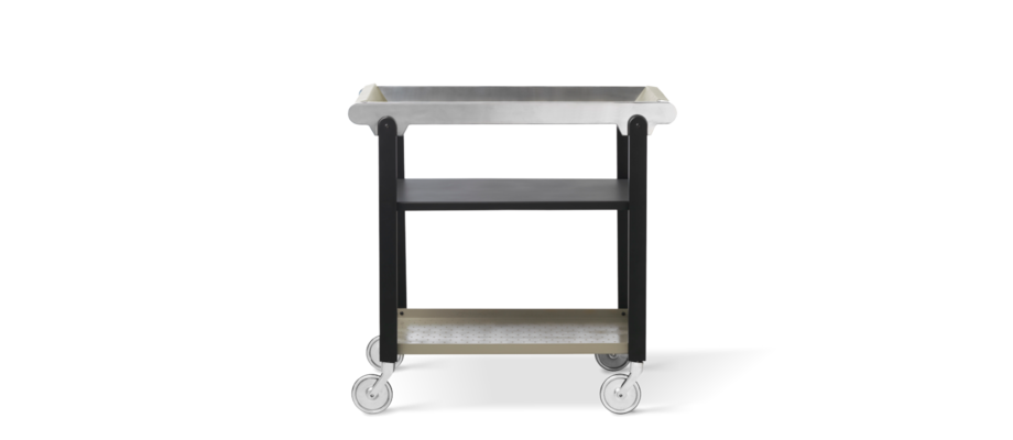 Den tidlösa serveringsvagnen Anoon från By Lassen har nu återupplivats med nya material
