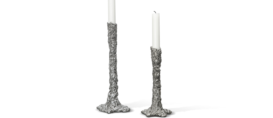 By On Space Candle Holder Ljusstake på 20 och 29 centimeter