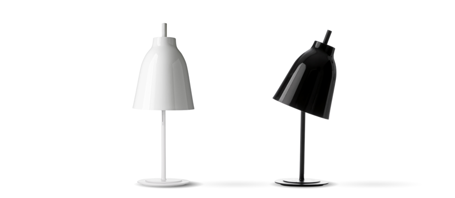 Lightyears Caravaggio Table Bordslampa Vit och svart