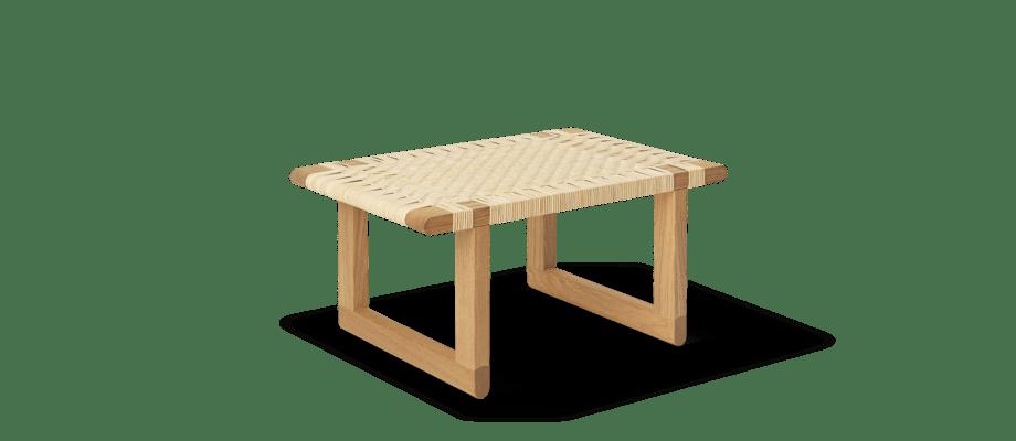 Carl Hansen & Søn BM0488S Table Bench i ek och rotting