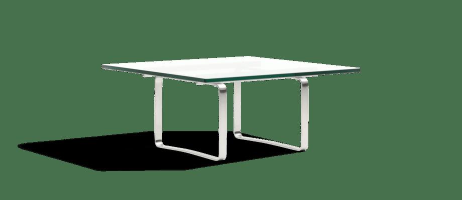 Carl Hansen & Søn CH106 Coffee Table Soffbord i glas och rostfritt stål