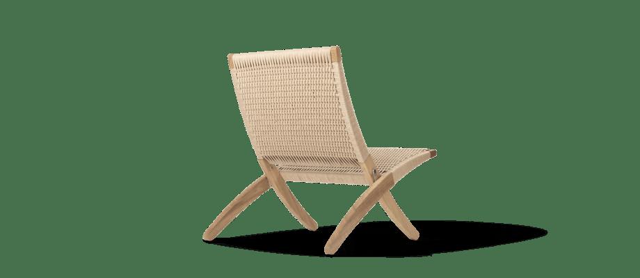Carl Hansen & Søn MG501 Cuba Chair Papercord Fåtölj i flätat papperssnöre