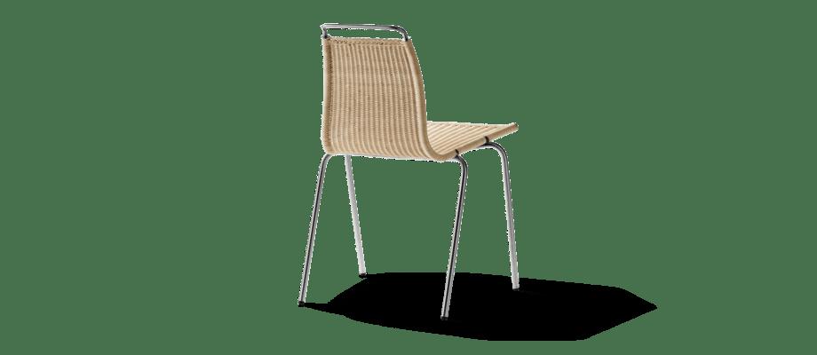 Carl Hansen PK1 Rottingstol av Poul Kjærholm