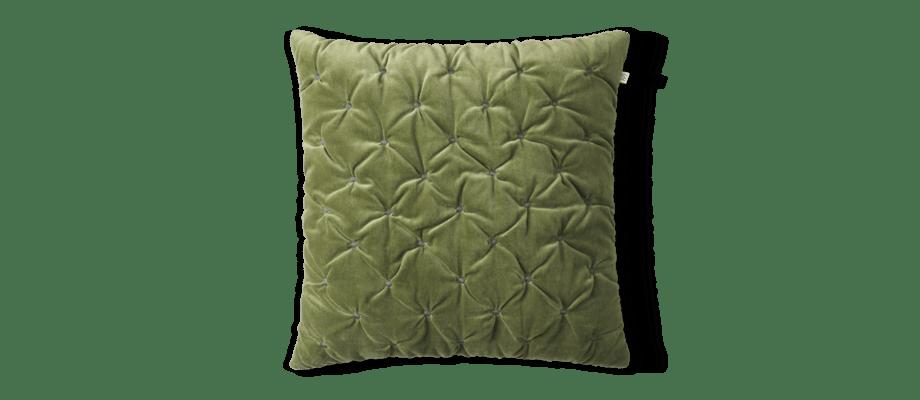 Chhatwal & Jonsson Mini Dot Kuddfodral i den gröna färgen Cactus Green