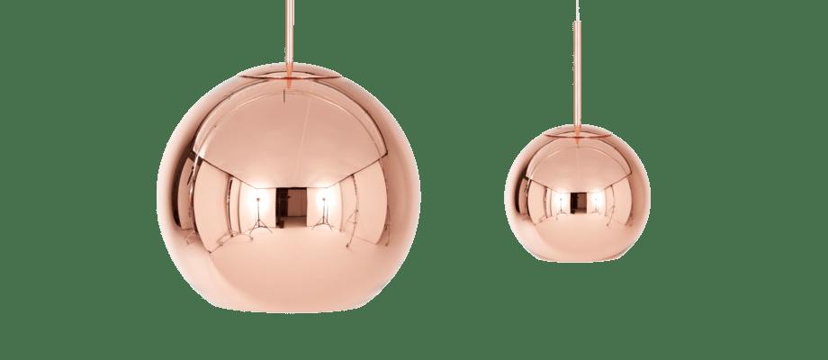 Köp före detta Copper Shade som nu kallas Copper Pendant i 25 cm eller 45 cm