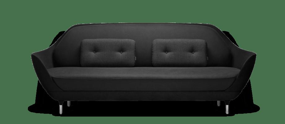 Jaime Hayons soffa Favn från Fritz Hansen finns i alla tyger och färger på Olsson & Gerthel
