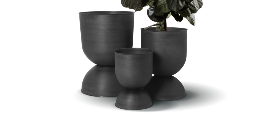 Ferm Living Hourglass Pot Kruka i small, medium och large
