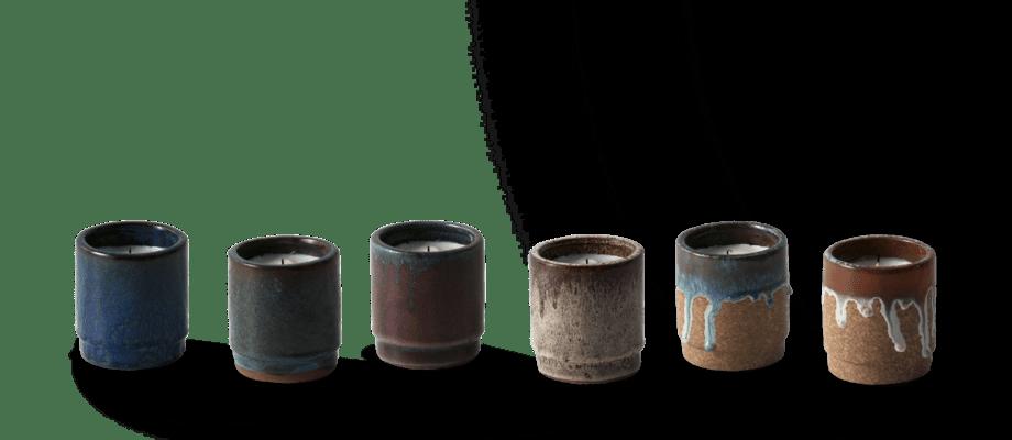 Ferm Living Scented Candle Doftljus i olika färger
