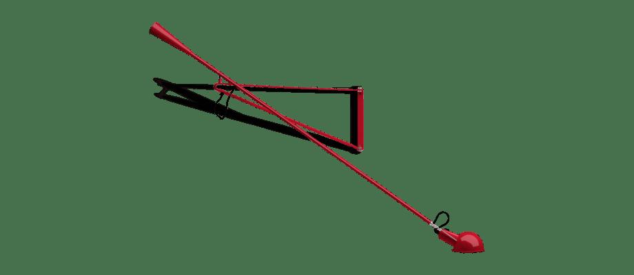 Flos 265 Limited Edition Röd Vägglampa