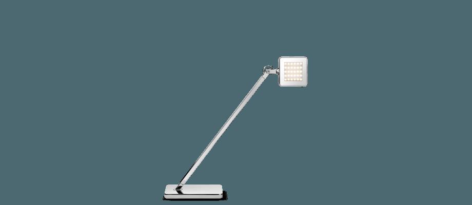 Flos Minikelvin LED Skrivbordslampa i förkromad aluminium