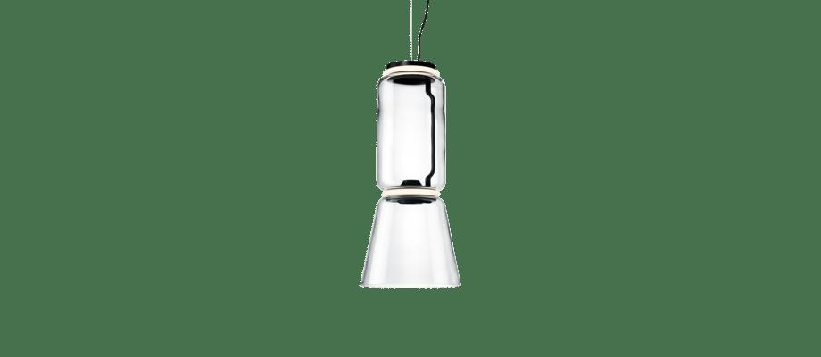 Flos Noctambule 1 Cone Pendellampa med konformad skärm och en cylinder