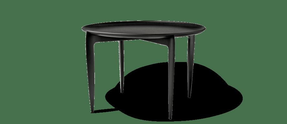 Fritz Hansen Objects Tray Table Soffbord i svartlackad ek