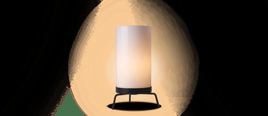 Fritz Hansen PM-02 Bordslampa i frostad glas