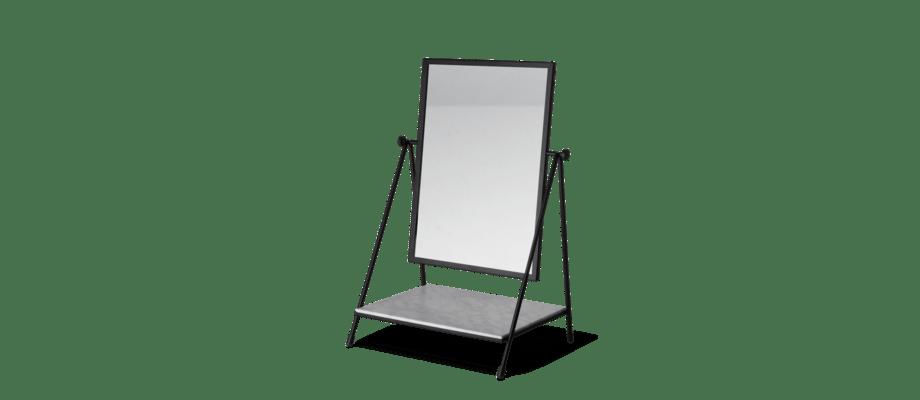 Fritz Hansen Planner Table Mirror Spegel med hylla i vit marmor