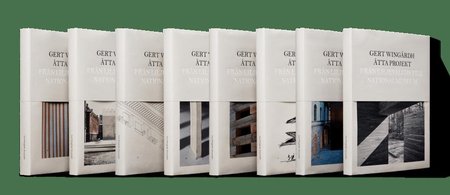 Gert Wingårdhs bok Åtta projekt från Liljevalchs till Nationalmuseum
