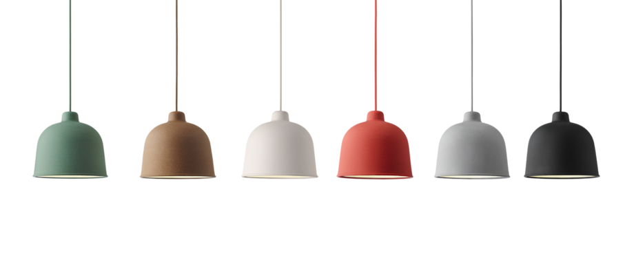 Köp Muuto Grain Pendel online, en lampa med flera olika val av färg