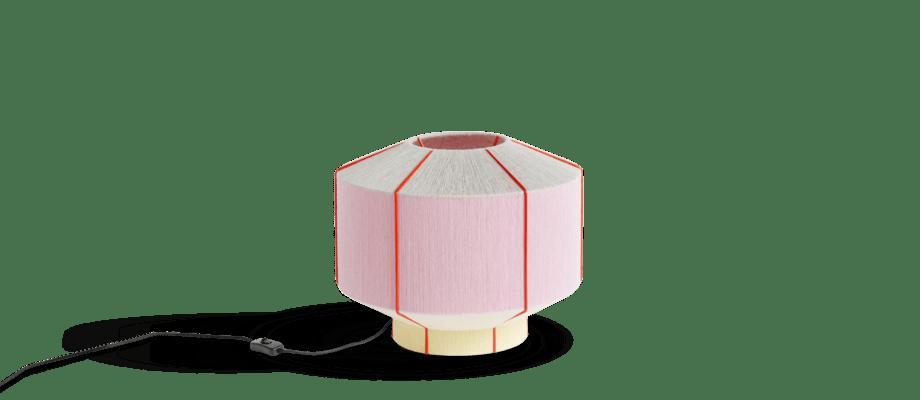 HAY Bonbon 380 Ice Cream Bordslampa i rosa färg